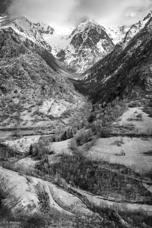 Isère . Vallée de la Roizonne . Vallée du Rif Bruyant