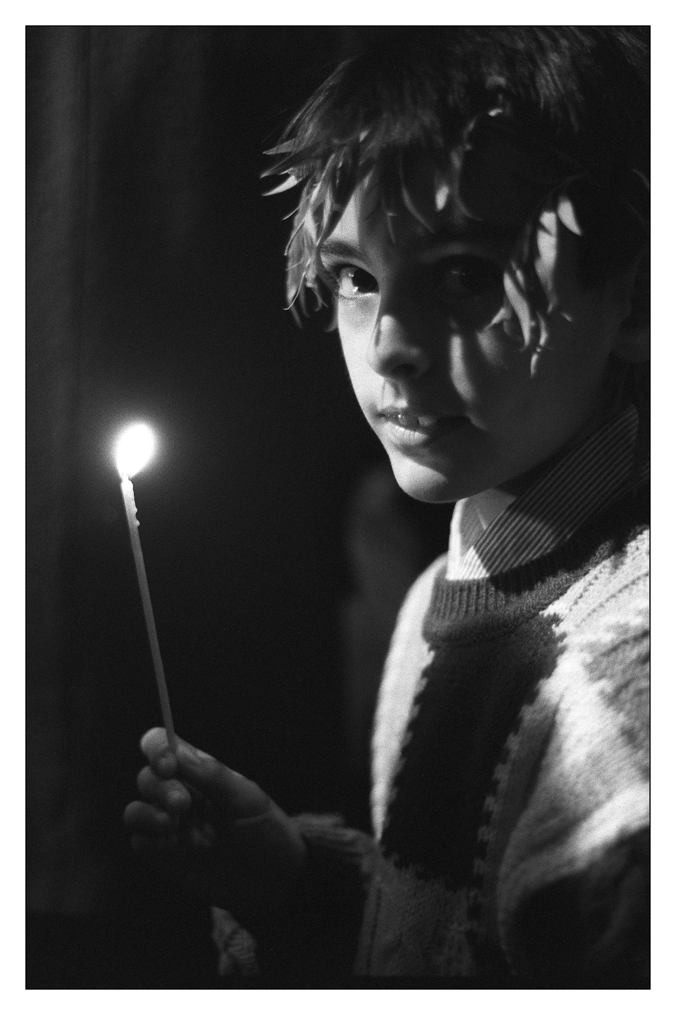 Jeune orthodoxe, Sofia, Bulgarie, 1994©Sabine Weiss