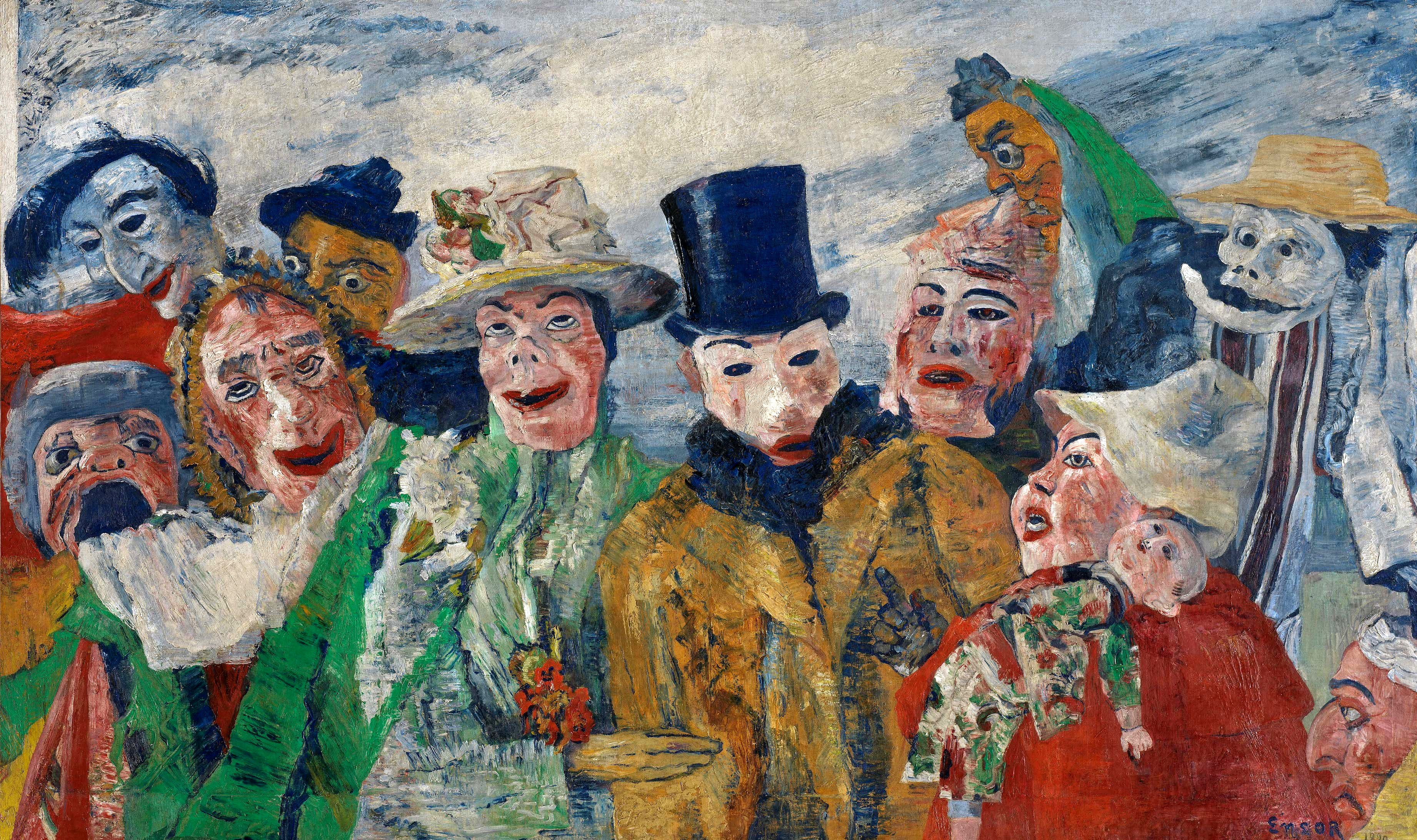 James ENSOR - l'intrigue