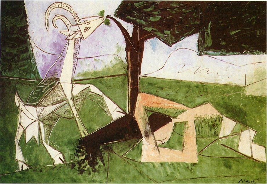 Pablo Picasso-Le printemps