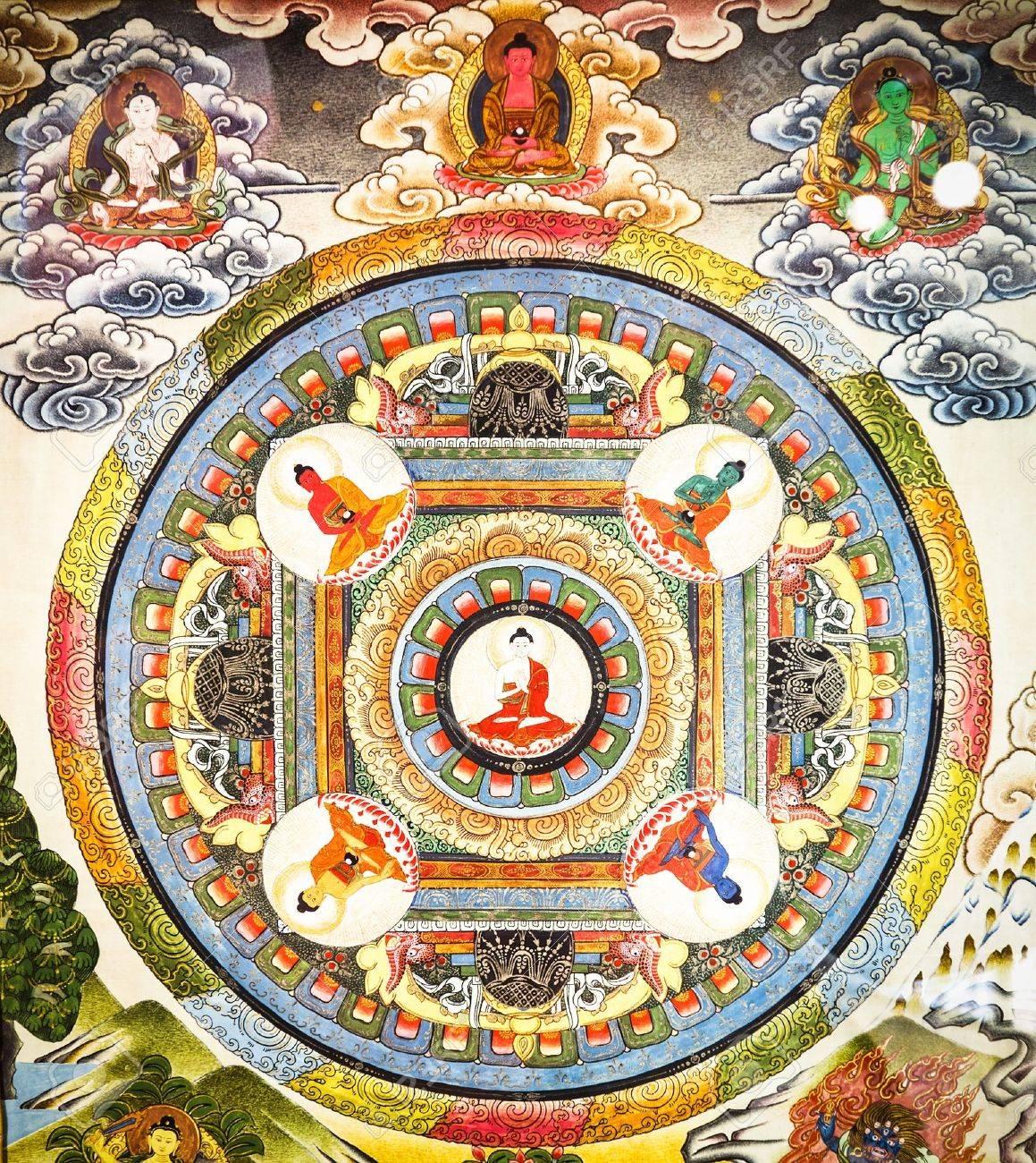16896678-historique-magnifique-mandala-tibétain