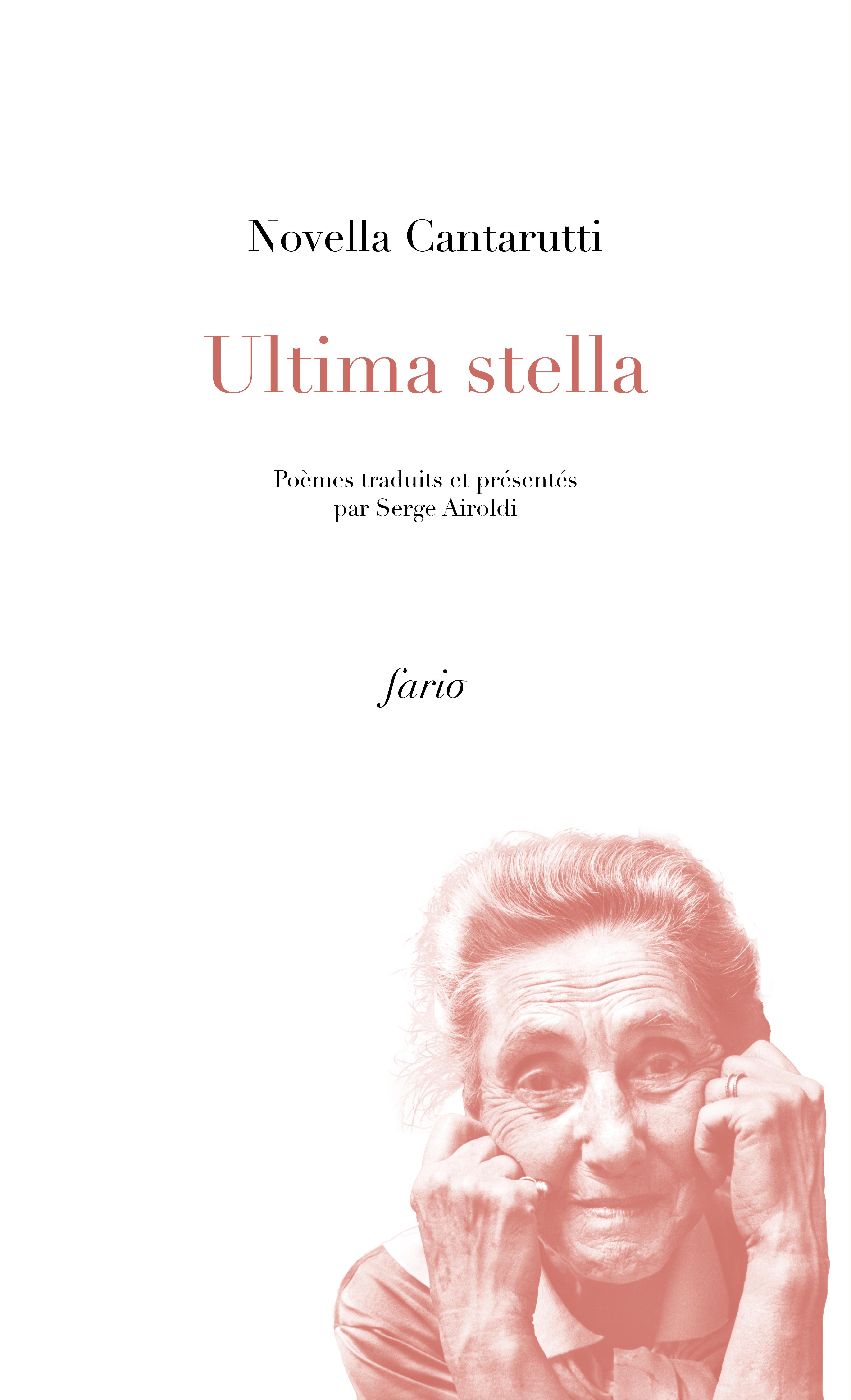 Ultima Stella - couverture web